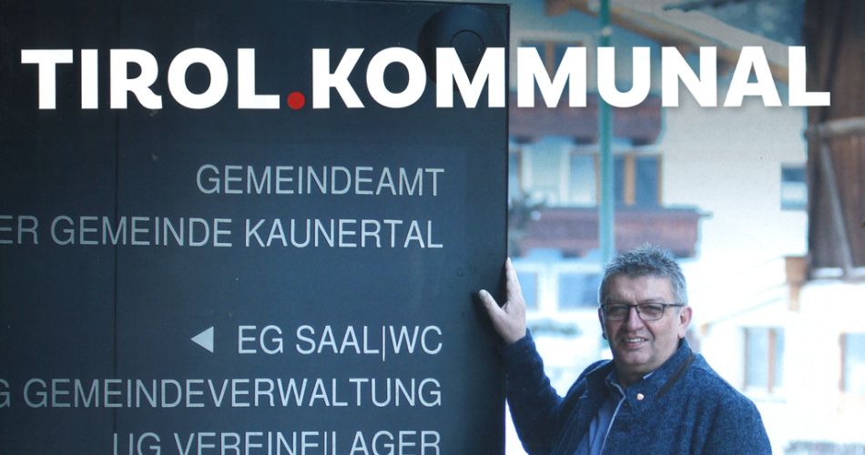 Titelseite TIROL.KOMMUNAL April 2019
