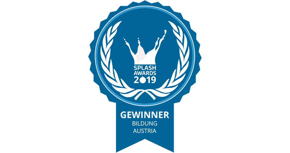 Splash Awards 2019 Gewinner Badge